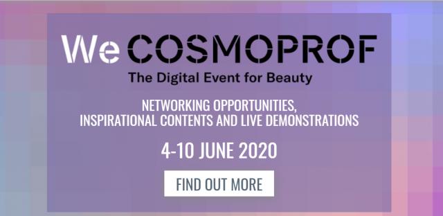 A Cosmoprof nem maradt el, csak digitális platformra költözött! Beauty Kiállítás